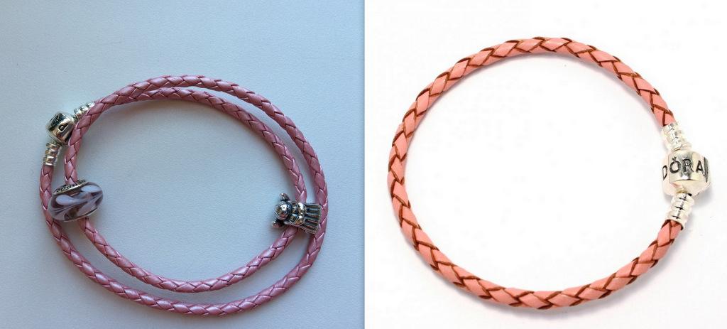 Пандора браслет кожаный или серебряный