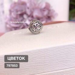 шарм пандора цветок 797853